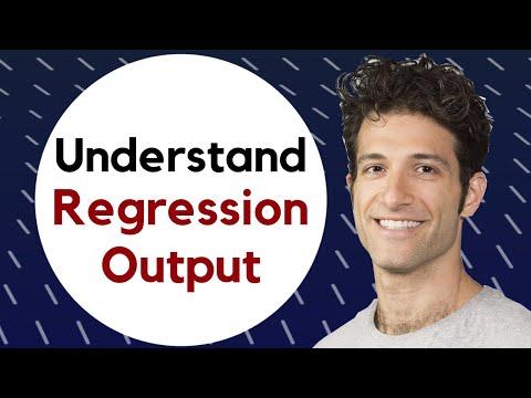 Regression III: Understanding regression output