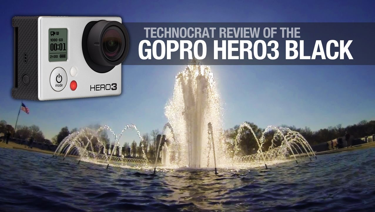 Review: The GoPro Hero3 is teeny, tiny and totally pro