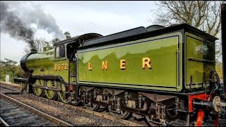Giants Of Steam At The Bluebell Railway