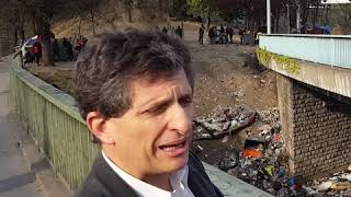 Porte de la Chapelle : Serge Federbusch dénonce la tiers-mondisation de Paris