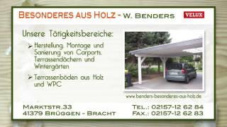 Wilfried Benders Tischlermeisterbetrieb