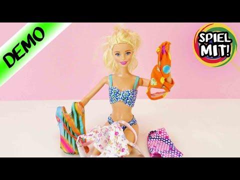Barbie Bikinis und Badeanzüge für den Sommer | 5 Looks | Badebekleidung für Puppen | Neuer Style