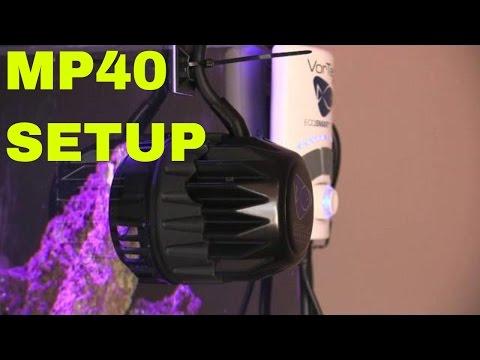 Vortech MP40 setup - rotter tube reef letöltés