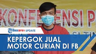 Nasib Apes Maling di Bekasi, Jual Motor Lewat Facebook Malah Kepergok Korban hingga Diringkus Polisi