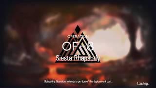 Saria  - (Arknights) - Arknights - OF-8 - [AUTO skill series] 3-operator run (Exusiai, Saria, Ifrit)