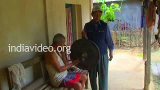 Gong, a musical instrument, Nagaland