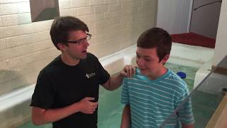 Baptism of Colby Ford