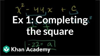 Completing the Square 1
