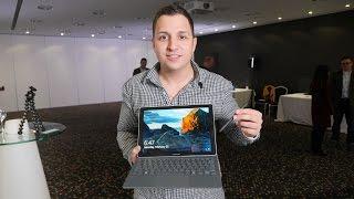 Samsung Galaxy Book im Hands-on: Luxus-Tablet