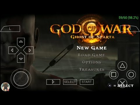 God of War: Ghost of Sparta (60 FPS) PPSSPP 1 5 3 on Sony XZ