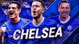 Chelsea FC | GREATEST European Goals & Highlights | Hazard, Lampard, Terry | BackTrack