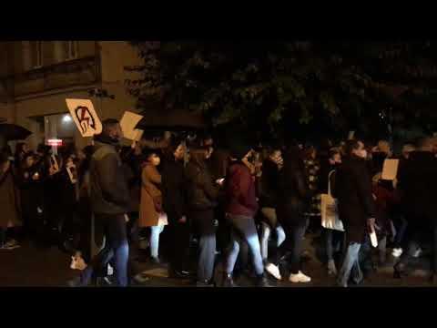 Wideo1: Protest Kobiet w Gostyniu