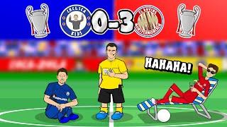 🤣BAYERN BATTER CHELSEA! 0-3🤣 (Champions League 2020 Last 16 Bayern Munich Parody Goals Highlights)