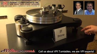 VPI Industries introduces the VPI Prime turntable, Mat Weisfeld