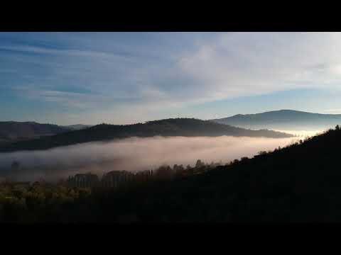 La magia della nebbia nel marscianese