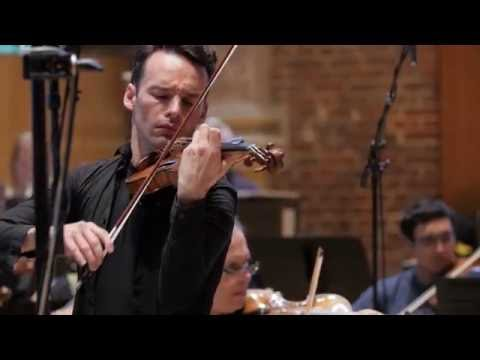 play video:Linus Roth records with the LSO & Thomas Sanderling - Shostakovich & Tchaikovsky Violin Concertos