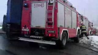 preview picture of video 'Łaziska Górne wypadek'