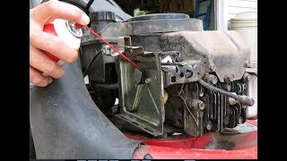 When your mower won't start: How to clean the carburetor on  5HP Briggs and Stratton engine