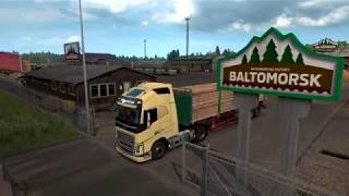 VideoImage1 Euro Truck Simulator 2 - Beyond the Baltic Sea