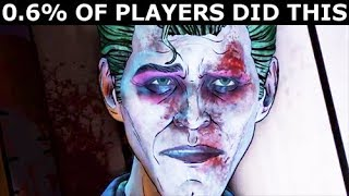 0.6% Of Players Refused To Answer Joker's Final Question - BATMAN The Enemy Within Episode 5 - dooclip.me