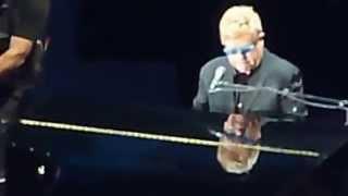 Ed Sheeran & Elton John 'Don't Go Breaking My Heart' Wembley 10.07.15 HD