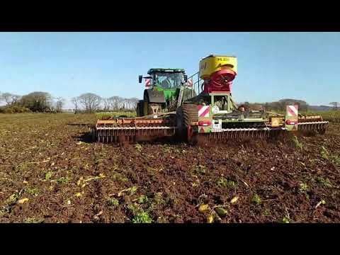sofimat-video-tracteur-john-deere-johndeere-8r340-finistere-29-morbihan-56