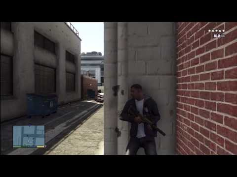 GTA 5: BEST HIDING SPOT ON GTA V KILLING 200 POLICE