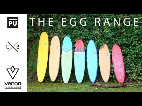 PICK YOUR EGG SURFBOARD | VENON FUNBOARD RANGE WITH ION EIZAGUIRRE
