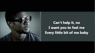 Usher - Dive - Lyrics On Screen