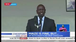 William Ruto insists on crop variation