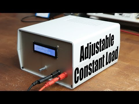 DIY Adjustable Constant Load (Current & Power)