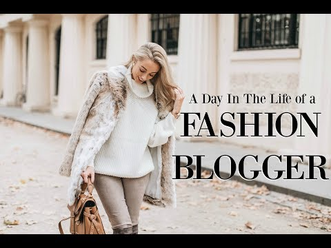 A Day in the Life of a Fashion Blogger // My 9-5 Routine   // Fashion Mumblr AD