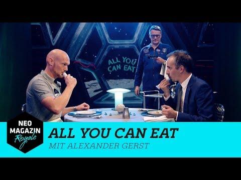 All You Can Eat mit Alexander Gerst UNCUT | NEO MAGAZIN ROYALE mit Jan Böhmermann - ZDFneo