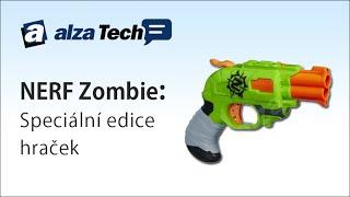 Řešení problémů se zombíky? NERF Zombie! - AlzaTech #68