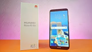 Huawei Mate 10 Lite - UNBOXING!!!