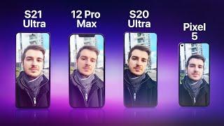 S21 Ultra vs iPhone 12 Pro Max vs S20 Ultra vs Pixel 5 - Camera Comparison!
