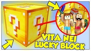 SI PUÒ SOPRAVVIVERE IN UN CUBO DI LUCKY BLOCK? - Minecraft ITA