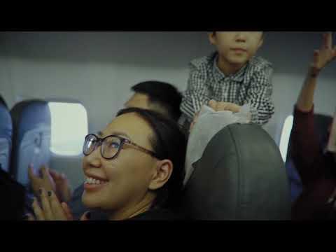 Авиакомпания «Якутия» исполняет мечты