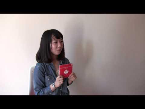 迷わないカナダ留学ガイドブックCM「ぼろぼろになっちゃいました」