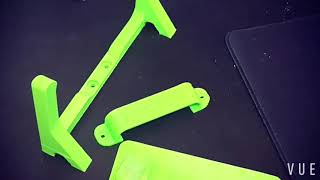 Finishing my 3d printer parts for the HTC Vive
