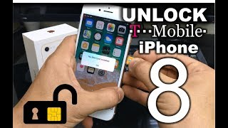 How To Unlock iPhone 8 from T-Mobile to any carrier