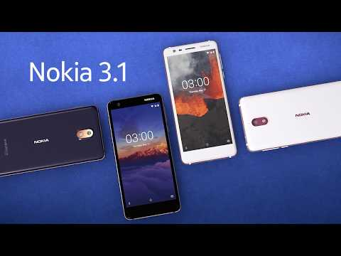 Обзор Nokia 3.1 (16Gb, black)
