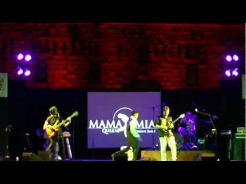 "MAMA MIA ""Queen Tribute Band"" - A KIND OF MAGIC@ Live Volterra"