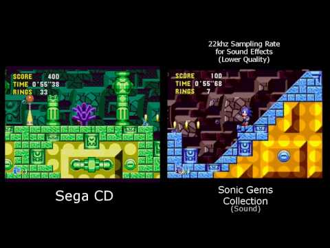 sonic gems collection xbox 360