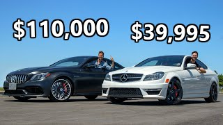 2020 Mercedes-AMG C63 S vs 2013 Mercedes C63 AMG // Cheap Meets Steep