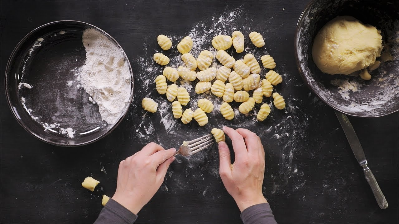 Making your own gnocchi