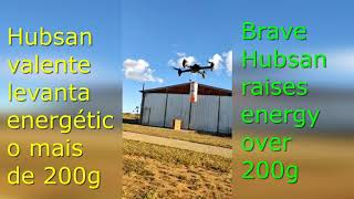 SERÁ QUE O H501S CONSEGUE VOAR C ENERGÉTICO VAMOS_LET'S VOAR HUBSAN 501S CAN FLY WITH ENERGETIC