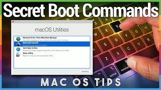 Secret Mac Boot Commands - Mac Boot Key Combinations
