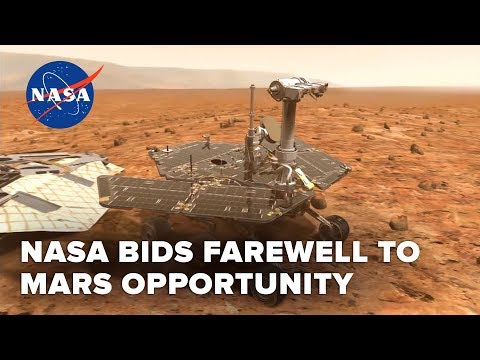 NASA says goodbye to Mars rover Opportunity after 15 years