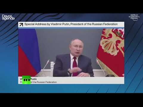 We need to avert war of  'all against all' | Putin at the World Economic Forum in Davos